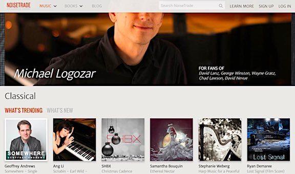 NoiseTrade Music download screenshot