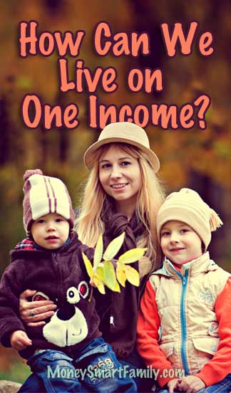 Can we live on one income? 3 families want to know how.