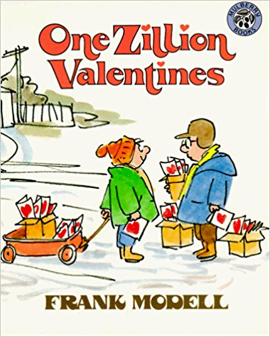 One Zillion Valentines book cover.
