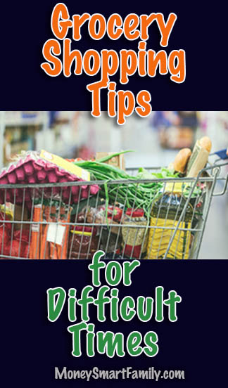 Grocery tips for difficult times Pandemic