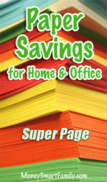 Home Office Paper Savings, many tips and ideas!