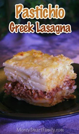 Pastitsio/Pastichio Recipe or Greek Lasagna #Pastitsio #Pastichio #GreekLasagna