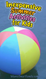 Inexpensive Summer Activities - Fun for Families and Kids