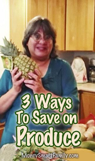 3 Ways to buy produce cheaper.