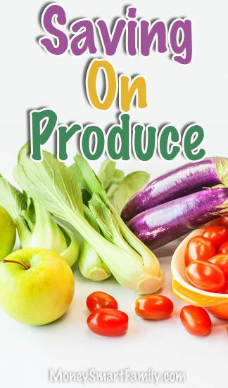 Grocery Produce Savings Tips & Ideas!