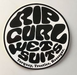 Rip Curl Wetsuits - Free Stickers