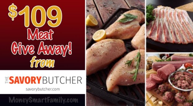 Savory Butcher Meat Give Away August 2019