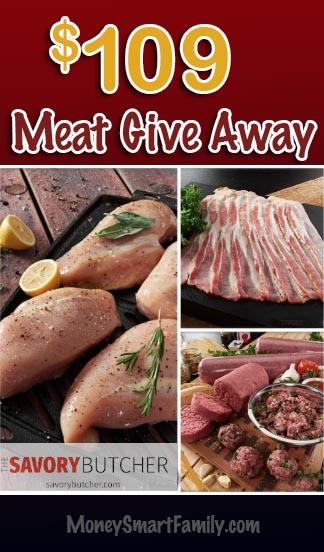 Savory Butcher Meat Give Away August 15, 2019