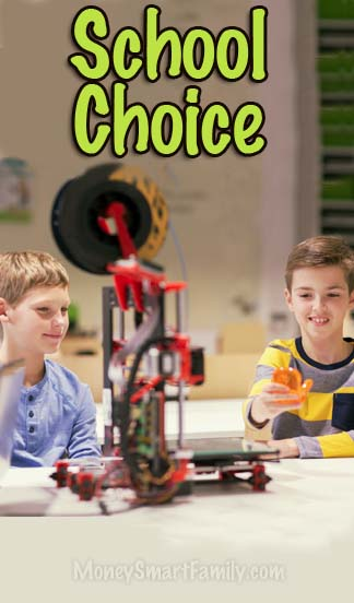 School Choice and options for a more customized education for our kids.