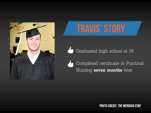Travis' story about home study for college and early graduation.