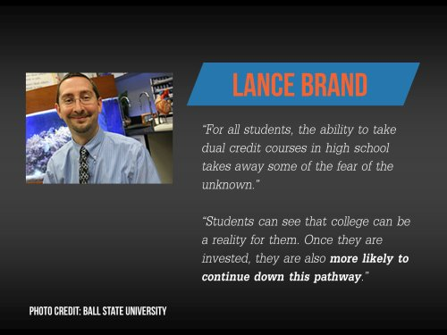 Lance Brand study at home college degree quote.