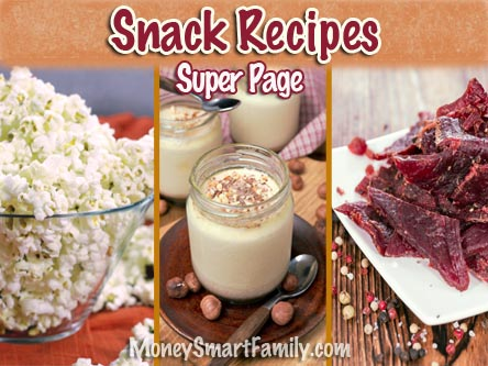 A super page of delicious snack recipes.