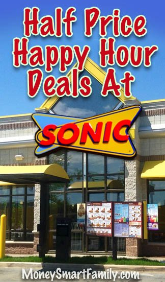Sonic Happy Hour Deals On Drinks Snacks You Can Get Today