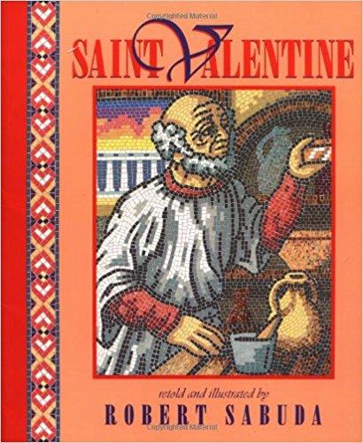 St Valentine book cover.