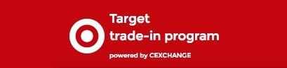 Target cell phone tradein program logo.