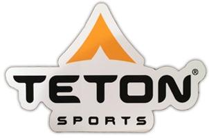 Teton Outdoor Sports Free Logo Sticker