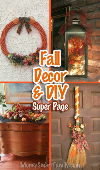 Fall Thanksgiving Decor and Do It Yourself Projects