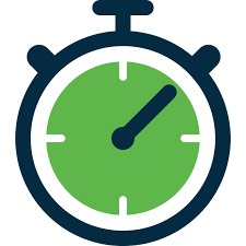 Timer stop watch icon