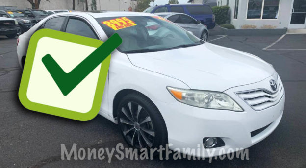 Use Car Buying Checklist