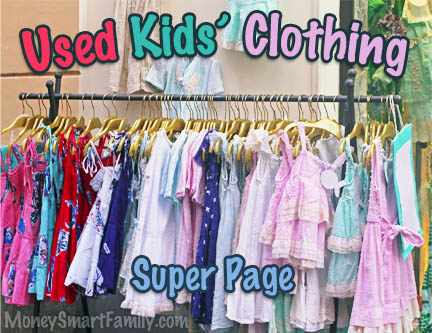 Finding Kids Clothes Cheap: Used Clothing Tips For Kids