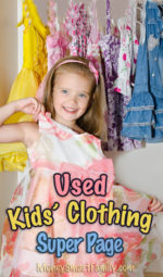 Buying Used Clothing Tips for Kids/ Used Clothes/ Kids Clothes/ Preowned Clothing/ Clothes for Teens