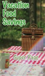 Vacation Food Savings Tips & Ideas!