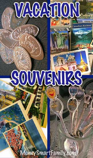 Vacation Souvenirs that are clever and frugal! Cheap Travel Souvenir Ideas!