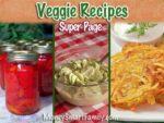 A super page of delicious veggie recipes.