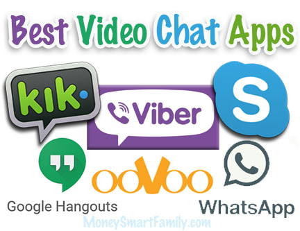 Best video chat apps logos.