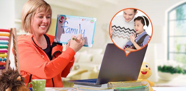 Teach English online to Chinese Children.