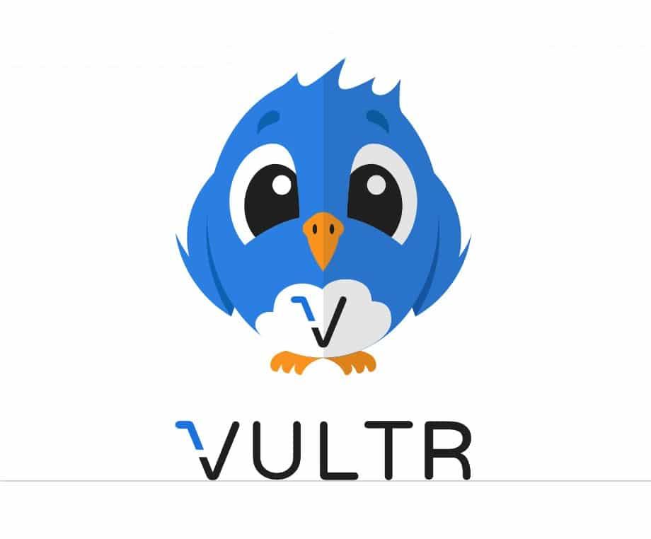 Vultr free logo sticker