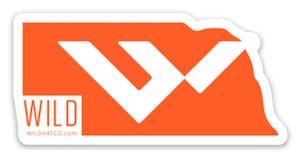 Wild Hat Company logo Free Sticker