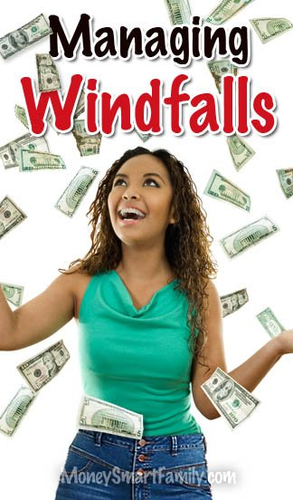 Managing Windfalls - tips to making your money last.