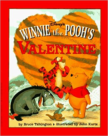 Winnie the Pooh's Valentine Book Cover.