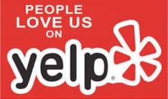 Yelp Free Sticker