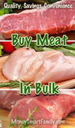 Buy Meat in Bulk to Save Time & Money!