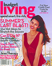 Budget Living Magazine Cover