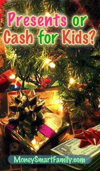 Gift Giving for Kids - Should it be Cash or Presents?