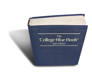 The College Blue Book by McMillian