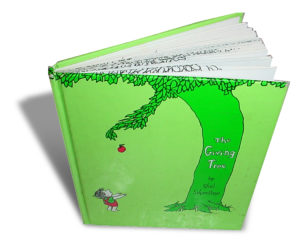 The Giving Tree by Shel Silverstein book cover