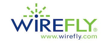 WireFly Logo - trade in technology for cash.