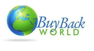 BuyBack World logo for cell phone returns.