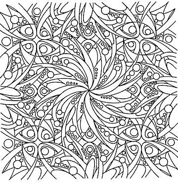 Free Coloring Pages For Adults 25 Cool Printable Design