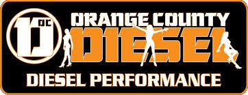 Orange County Diesel Free Sticker
