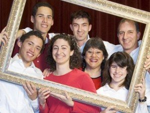 Steve & Annette Economides and their family