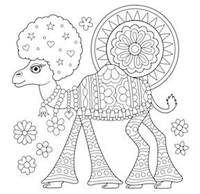 Art is Fun! Coloring Pages.