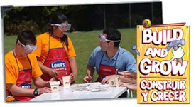 Lowe's Build and Grow events for kids.