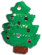 Christmas Decor Crafts And Fun Miscellaneous Super Page - Christmas Tree Pinata
