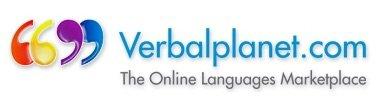 Verbal Planet Logo.